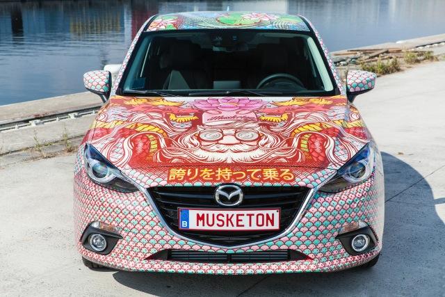 Musketon x Mazda photo Boy Kortekaas, thesquidstories
